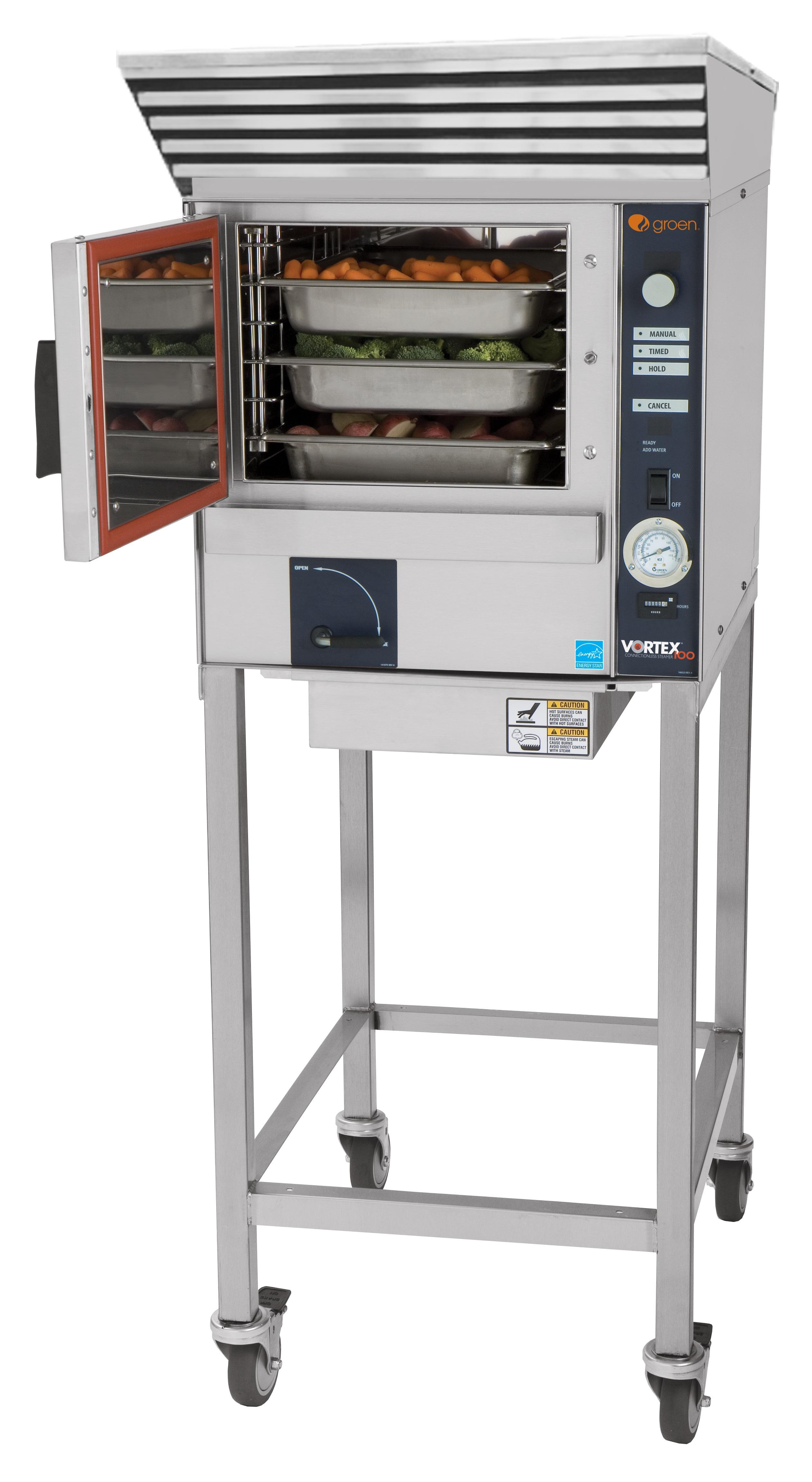 Vortex100 Connectionless Steamer